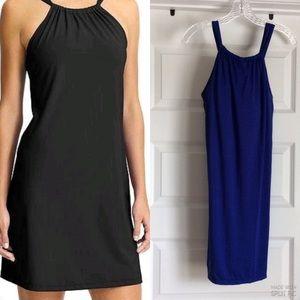 ATHLETA Kokomo Halter Dress in BLUE